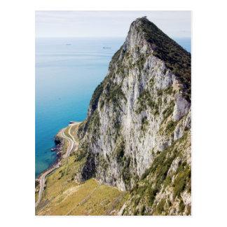 Roca de Gibraltar Tarjeta Postal
