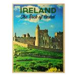 Roca de Irlanda del vintage de Cashel Postales