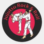 Roca de Jujutsu y pegatina del rollo