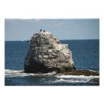 Roca de la ballena arte con fotos
