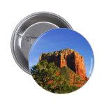 Roca de la catedral, Arizona Pin Redondo De 2 Pulgadas