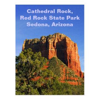 Roca de la catedral, Arizona Postales
