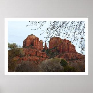 Roca de la catedral impresiones