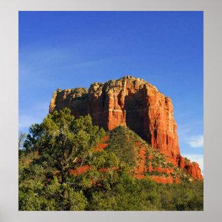 Roca de la catedral, Sedona, poster de Arizona