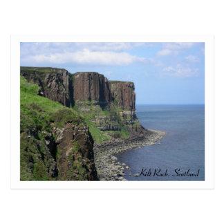 Roca de la falda escocesa, Escocia Postales
