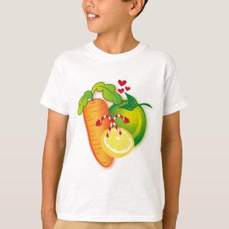 ¡Roca de la fruta y de los Veggies! Playera