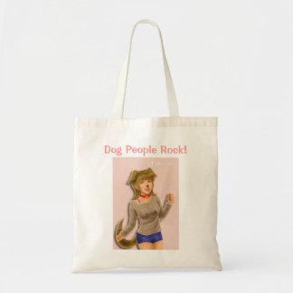 ¡Roca de la gente del perro! Totebad barato Bolsa De Mano