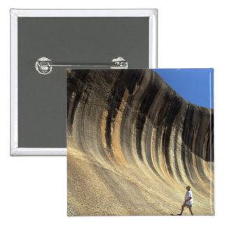 Roca de la onda, Australia occidental Pin