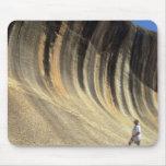 Roca de la onda, Australia occidental Tapetes De Ratones