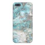 Roca de la turquesa iPhone 5 carcasa