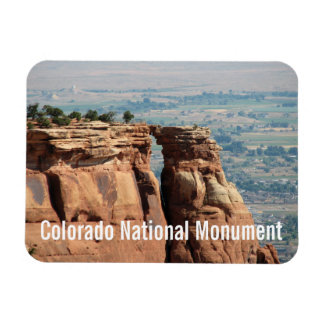 Roca de la ventana, monumento nacional de Colorado Imanes Flexibles