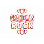 Roca de las abuelas tarjetas postales