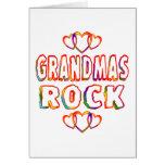 Roca de las abuelas tarjetón