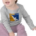 ¡Roca de las ballenas! Camisetas