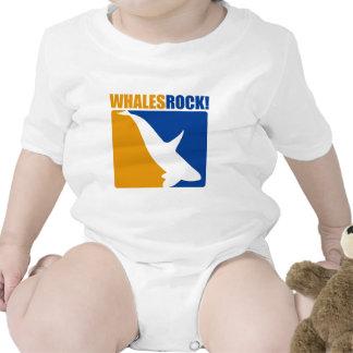 Roca de las ballenas camisetas