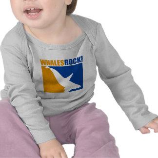 Roca de las ballenas camiseta