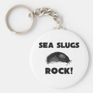 Roca de las barras de mar llavero personalizado
