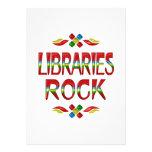Roca de las bibliotecas invitación
