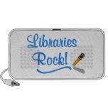 ¡Roca de las bibliotecas! Mini Altavoces