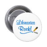 ¡Roca de las bibliotecas! Pins