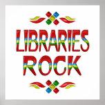 Roca de las bibliotecas poster