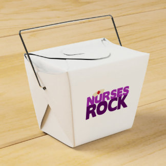 Roca de las enfermeras caja para regalos de fiestas