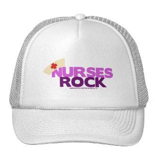 Roca de las enfermeras gorras de camionero