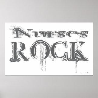Roca de las enfermeras poster