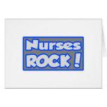 ¡Roca de las enfermeras! Tarjeta