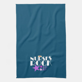 Roca de las enfermeras toallas de cocina