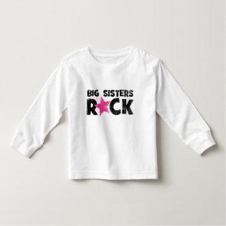 Roca de las hermanas grandes playera de bebé