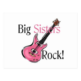 Roca de las hermanas grandes postales