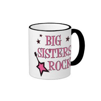 Roca de las hermanas grandes tazas de café