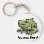 ¡Roca de las iguanas! Llavero
