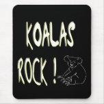 ¡Roca de las koalas! Mousepad Tapete De Raton
