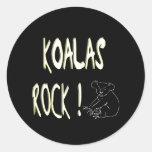 ¡Roca de las koalas! Pegatina