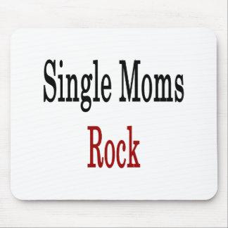 Roca de las madres solteras tapete de ratones