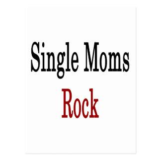 Roca de las madres solteras tarjetas postales