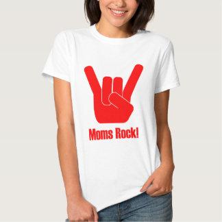 ¡Roca de las mamáes! Camisas