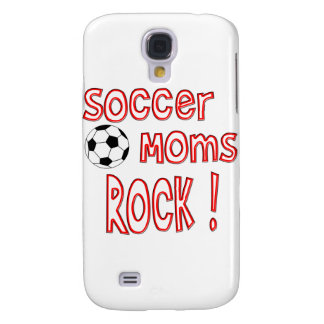 ¡Roca de las mamáes del fútbol! Carcasa Para Galaxy S4