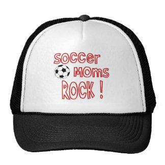 ¡Roca de las mamáes del fútbol! Gorros