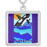 Roca de las orcas grimpolas personalizadas