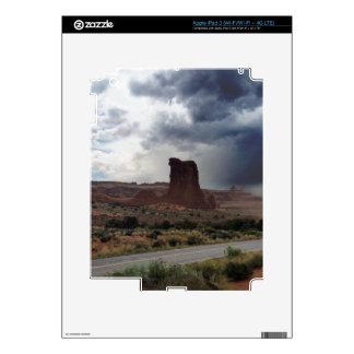 Roca de las ovejas del parque nacional de los iPad 3 skin