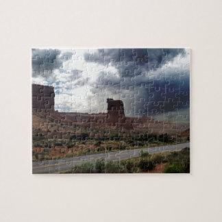 Roca de las ovejas del parque nacional de los puzzle
