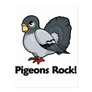 ¡Roca de las palomas! Tarjetas Postales