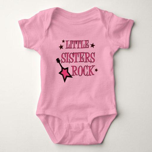 Roca de las pequeñas hermanas body para bebé