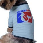 ¡Roca de las sirenas! #2 Camisa De Mascota