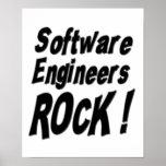 ¡Roca de las Software Engineers! Impresión del pos Poster