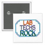 Roca de las tecnologías del laboratorio pin