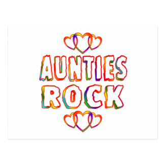 Roca de las tías tarjetas postales